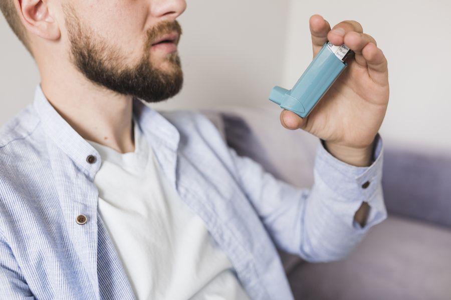 inhalador para asma y epoc
