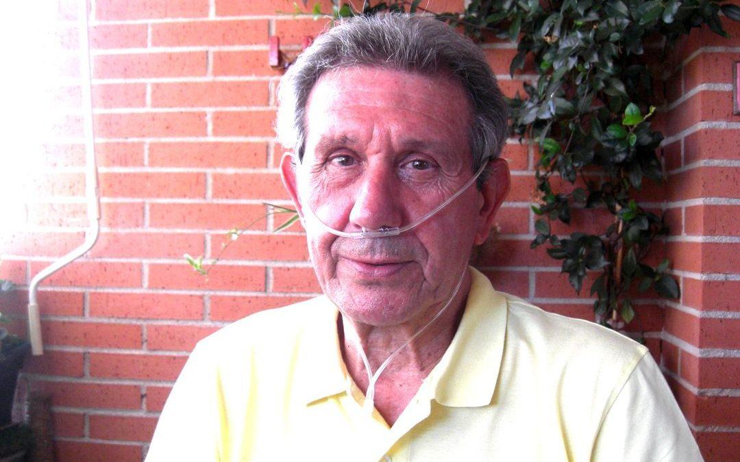 Oxigenoterapia con gafas nasales oxígeno