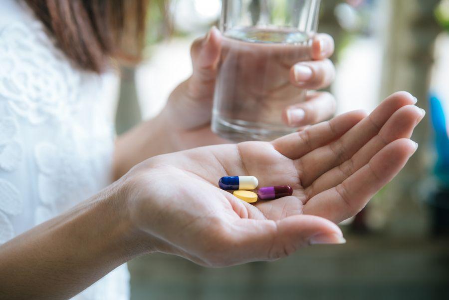 pastillas y comprimidos como tratamiento