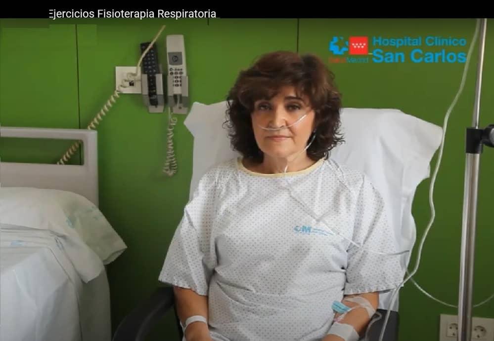 Expansión pulmonar hinchar los pulmones fisioterapia respiratoria