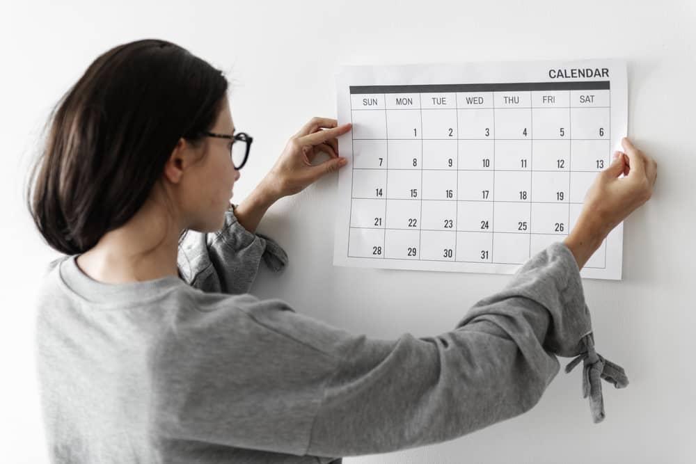 calendario elegir el momento oportuno fecha cita medica tratamiento